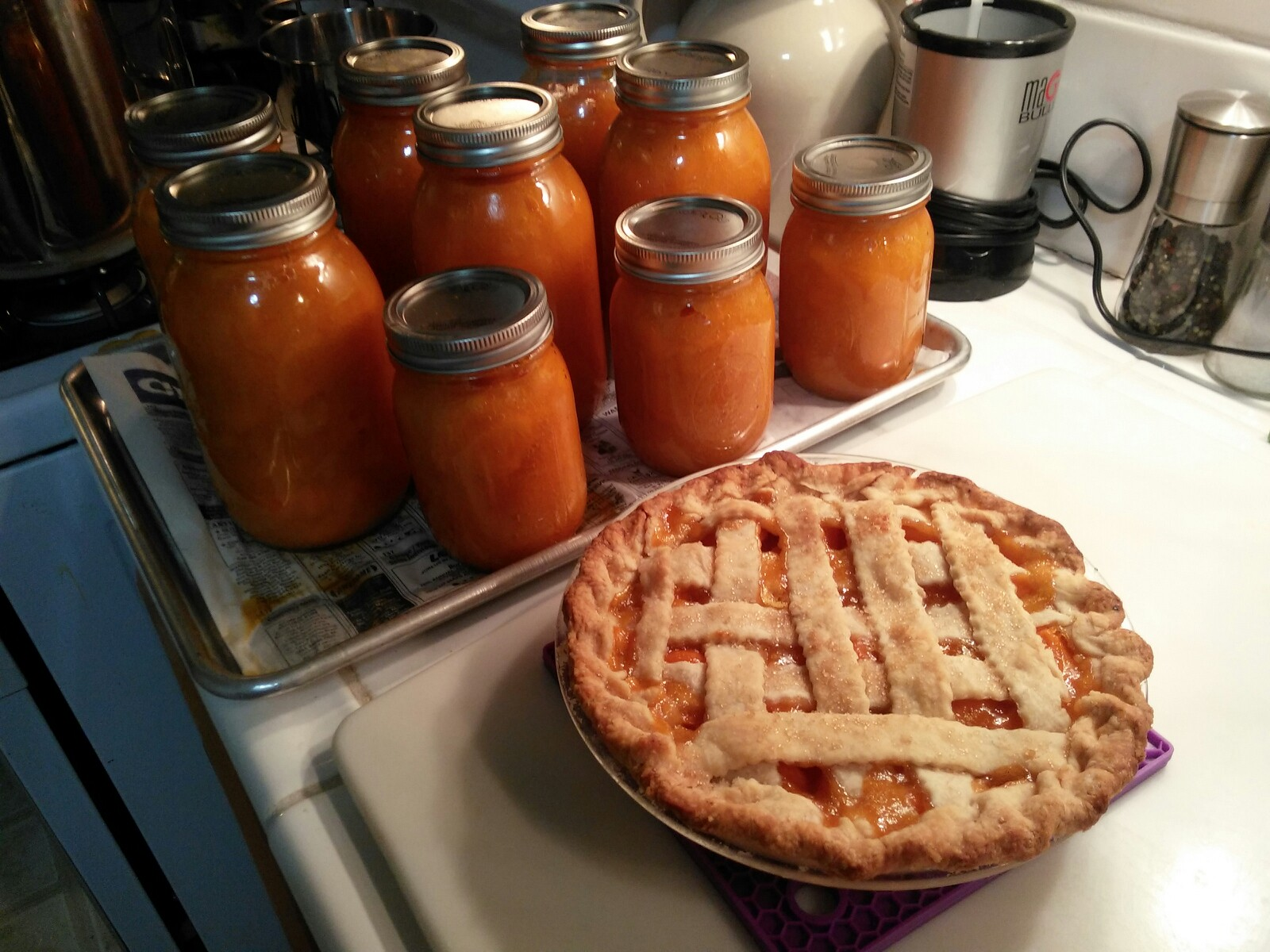 apricot jars and pie